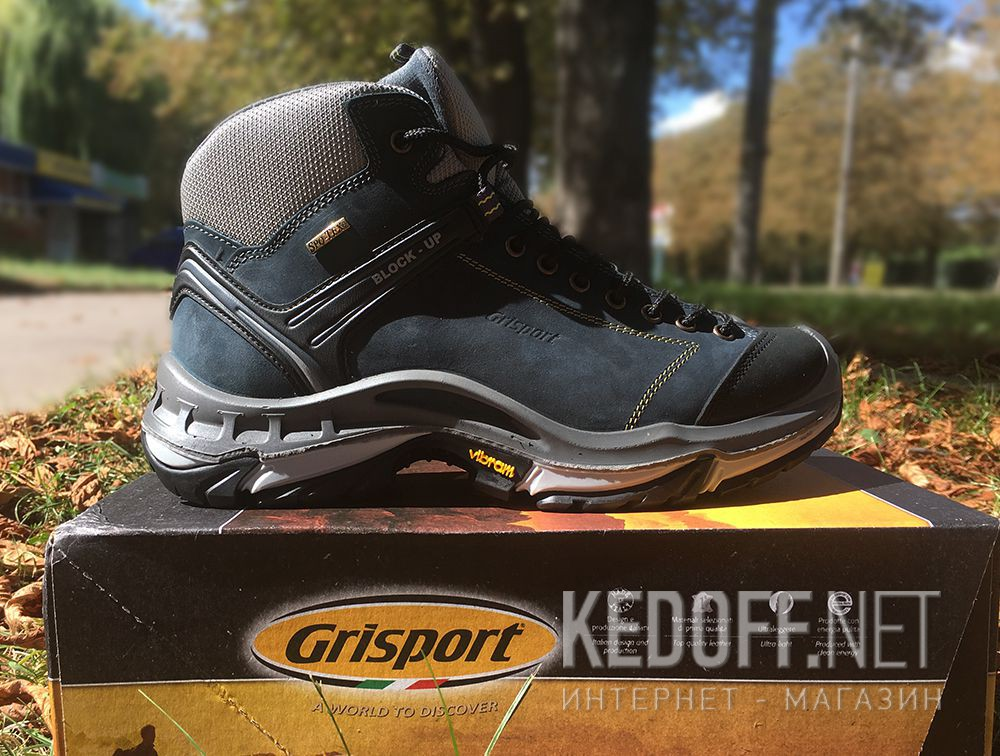 Доставка Мужские ботинки Grisport Vibram 11929N91tn Made in Italy
