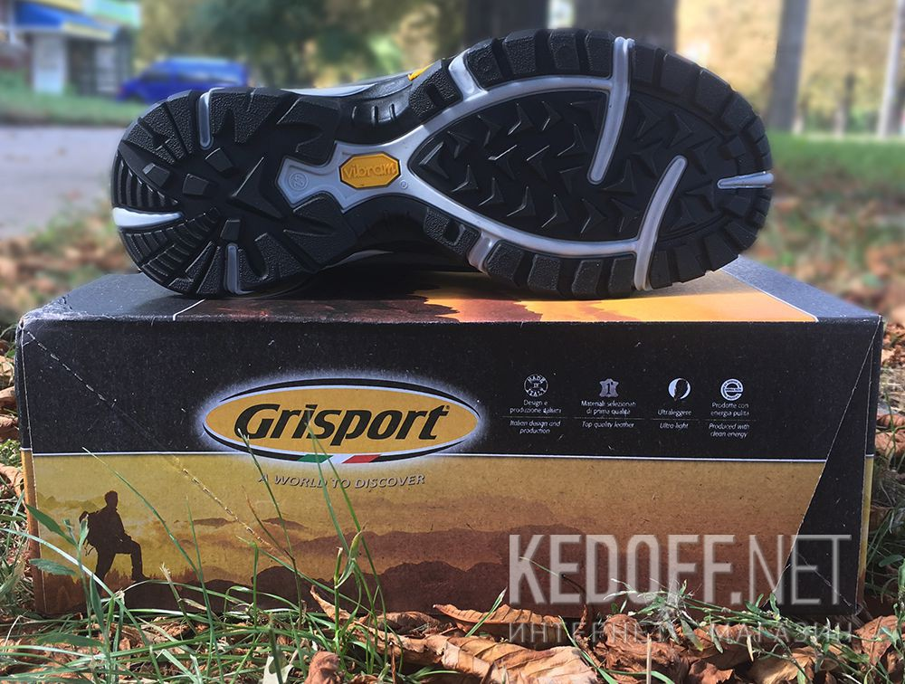 Чоловічі черевики Grisport Vibram 11929N91tn Made in Italy доставка по Украине