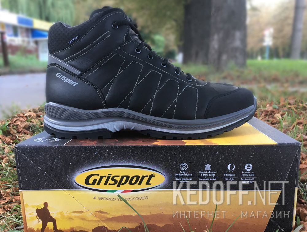 Доставка Мужские ботинки Grisport 13917A41tn Made in Italy