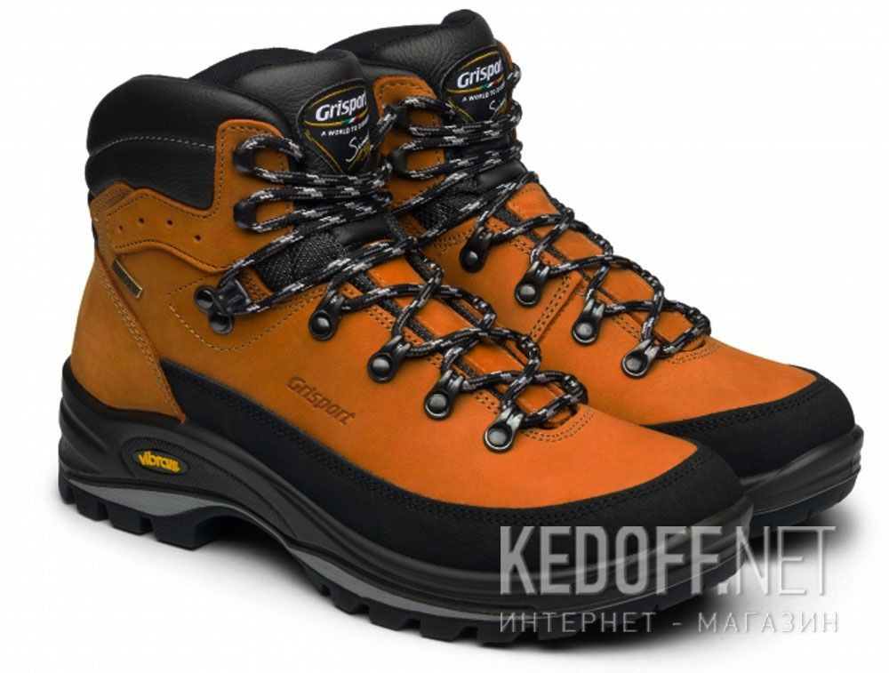 Мужские ботинки Grisport Vibram 12801n93 tn Made in Italy