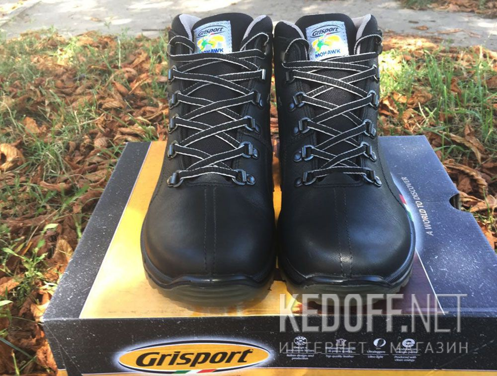 Чоловічі черевики Grisport Vibram 12905O137n Spo-Tex, Made in Italy доставка по Украине
