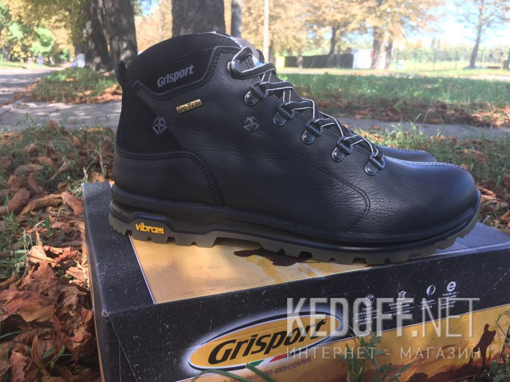 Чоловічі черевики Grisport Vibram 12905O137n Spo-Tex, Made in Italy все размеры