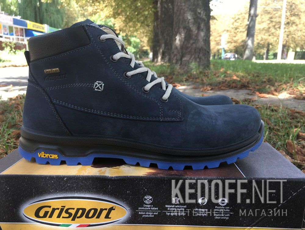 Men's boots low boots grisport Vibram 12925N33tn Made in Italy все размеры
