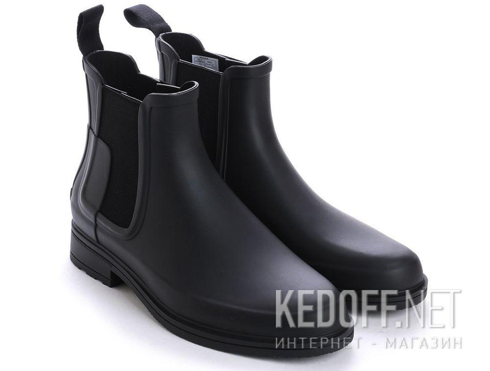 Мужские ботинки Hunter M Org Refined Chelsea MFS9060RMA BLACK купить Украина