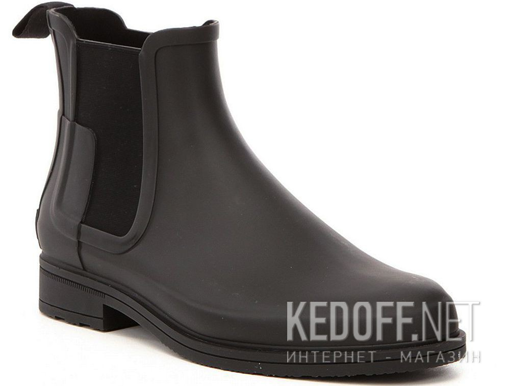 Купить Мужские ботинки Hunter M Org Refined Chelsea MFS9060RMA BLACK