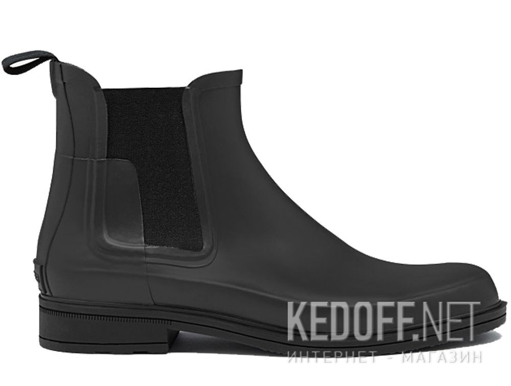 Чоловічі черевики Hunter M Org Refined Chelsea MFS9060RMA BLACK купить Киев