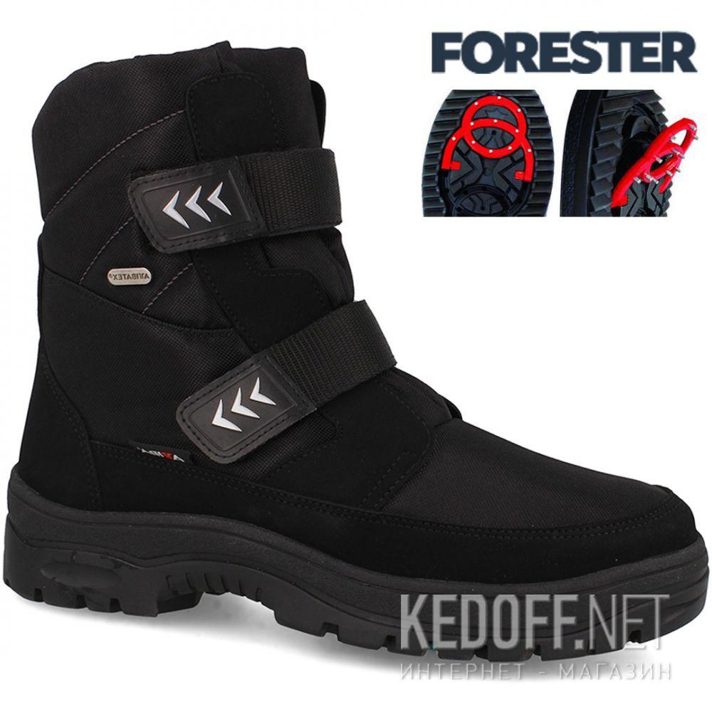 Мужские ботинки лёдоходы Forester Attiba OC System 53610-27 Made in Europe доставка по Украине