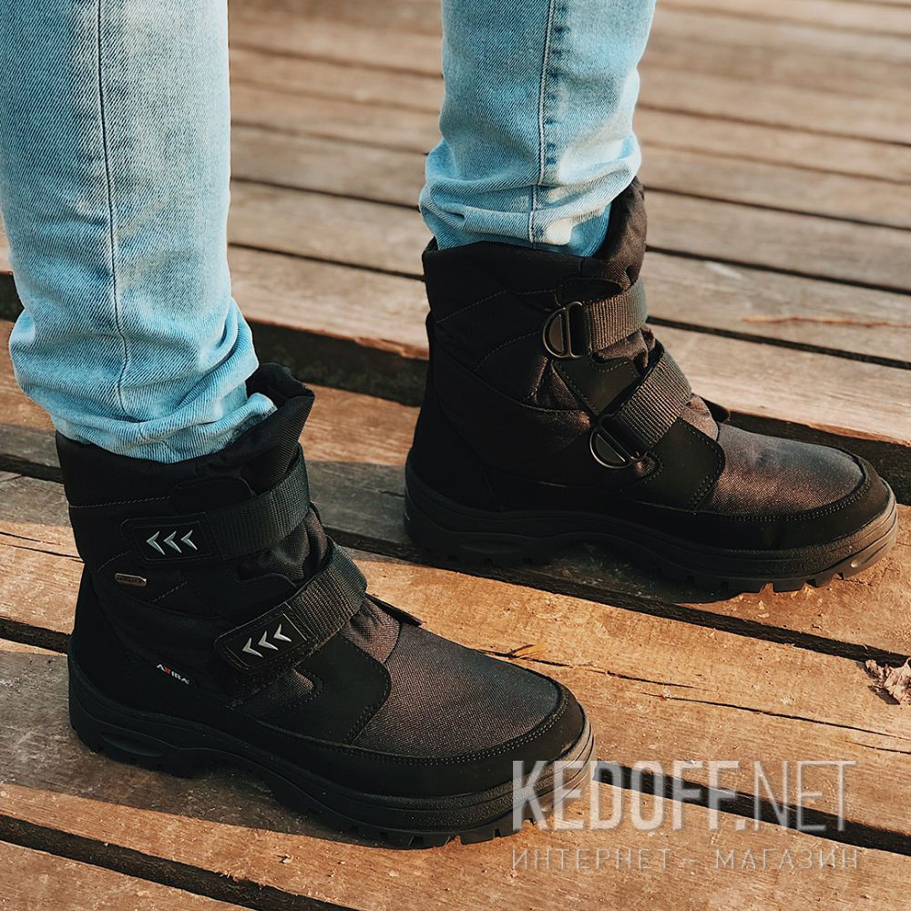 Мужские ботинки лёдоходы Forester Attiba OC System 53610-27 Made in Europe