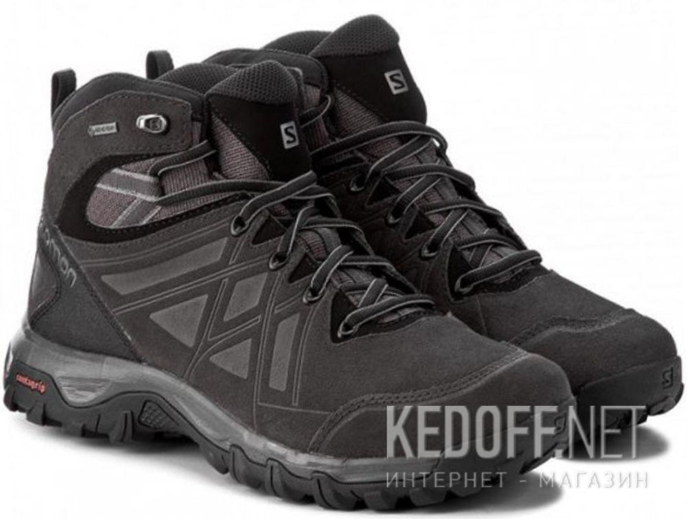 Мужские ботинки Salomon Evasion 2 Mid Leather 398714 Gore-Tex купить Украина