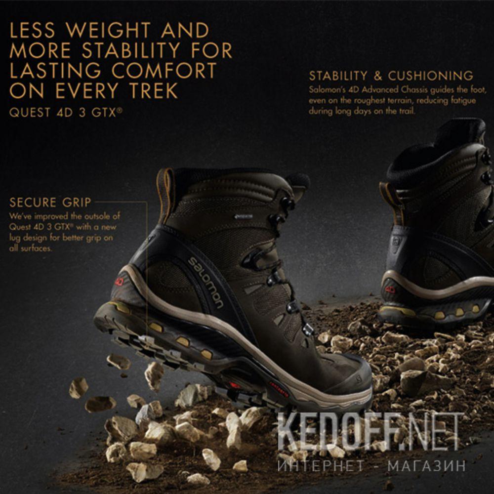 Цены на Мужские ботинки Salomon Ouest 4D 3 Gore-Tex 402455