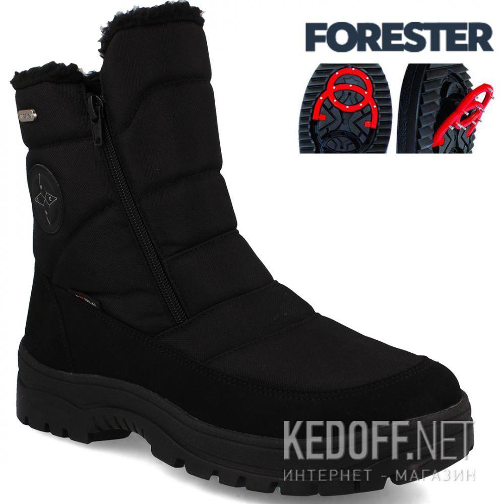 Купить Мужские ботинки зимоходы Forester Attiba 58403-27 Made in Italy
