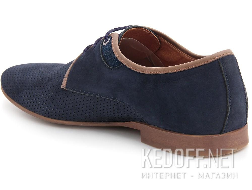 Мужские классические туфли Forester 1685-052   (синий) купить Украина