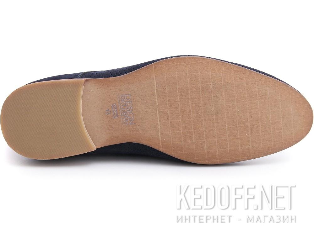 Оригинальные Мужские классические туфли Forester 1685-052   (синий)