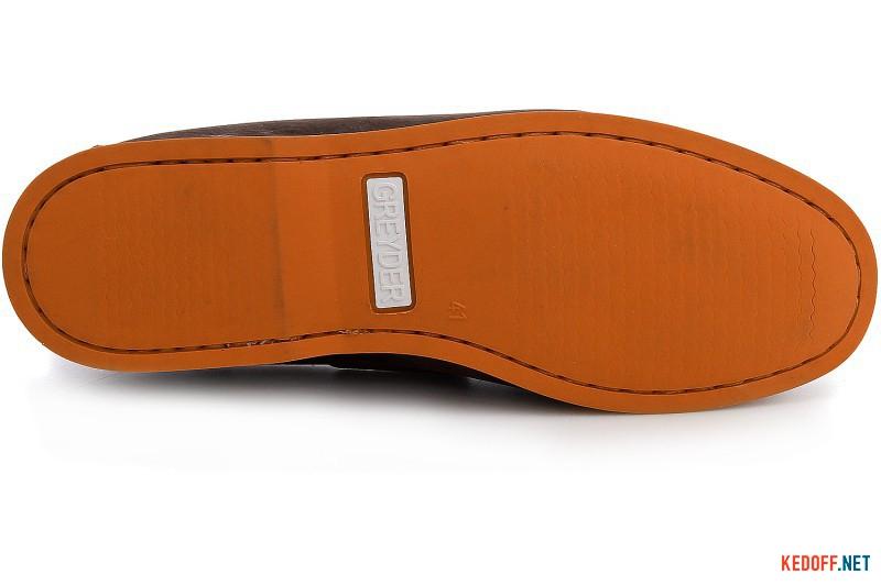 Чоловічі топсайдеры Greyder 04231-5874 коричневі