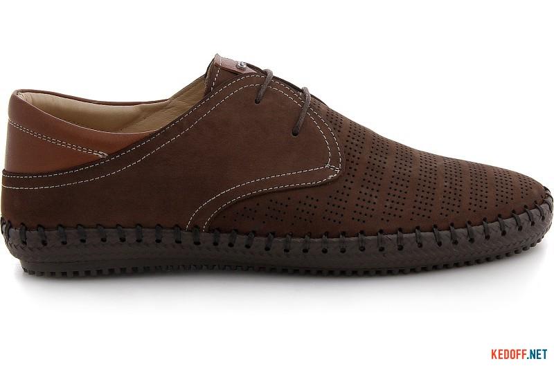 Men comfort mocasins Greyder 60110-45 Brown nubuk