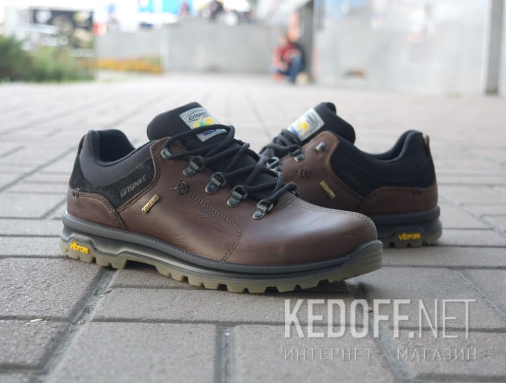 Чоловічі черевики Grisport 12907-O52G (коричневий) доставка по Украине