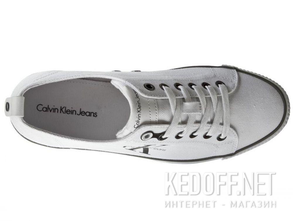 Мужские кеды Calvin Klein Jeans Arnold Canvas S0369-WHT купить Украина
