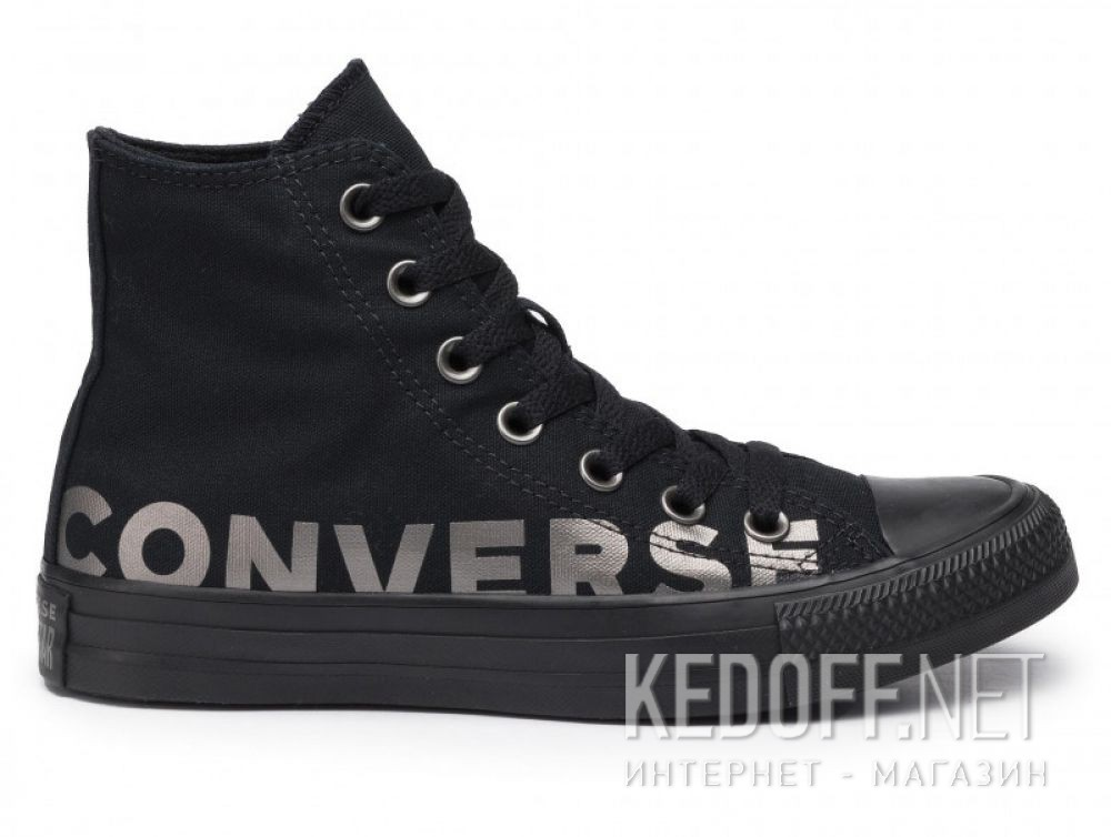 Мужские кеды Converse Chuck Taylor All Star Wordmark Hi 165429C купить Украина