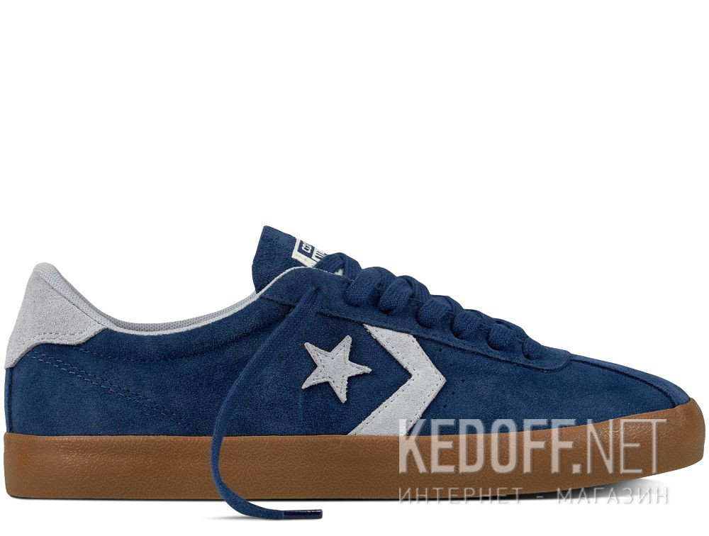 Купить Мужские кеды Converse Navy Wolf Grey Dark Honey 159726C