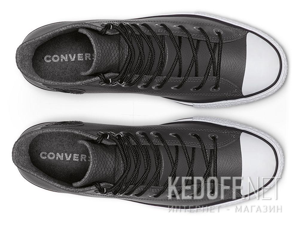 Оригинальные Чоловічі кеди Converse Chuck Tailor All Star Winter 164926C Grey Leather Water-Repellent High Top