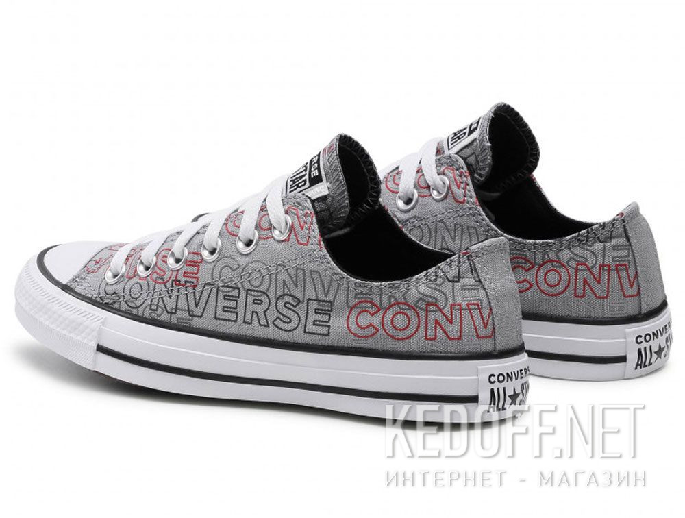 Мужские кеды Converse Chuck Tailor All Star Wordmark Print low 170109C купить Украина