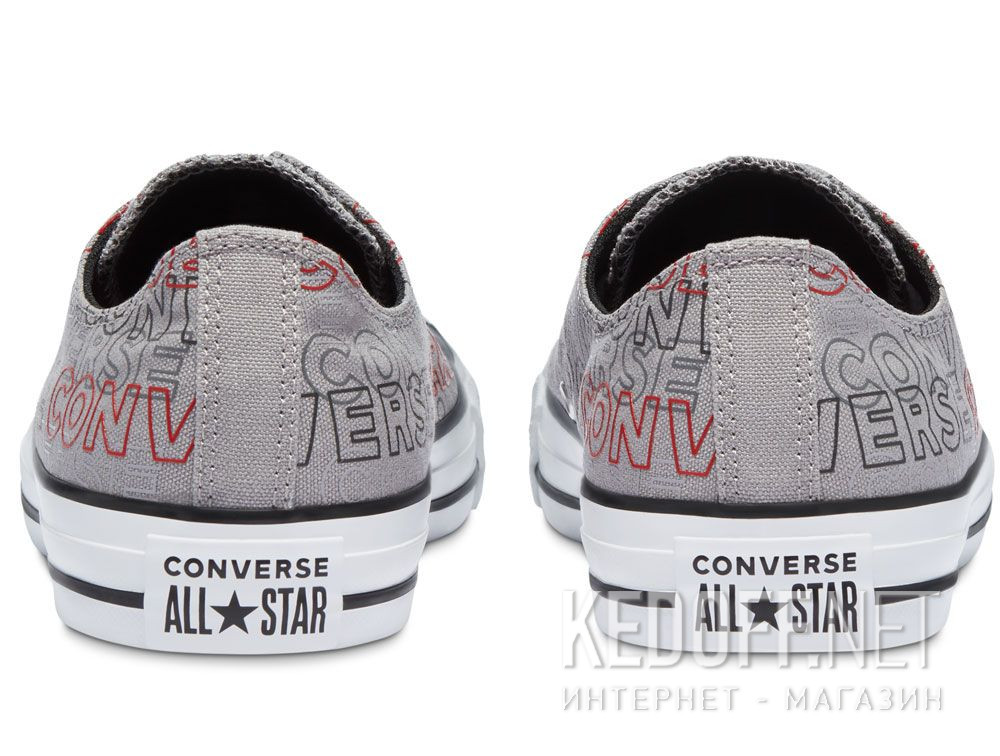 Мужские кеды Converse Chuck Tailor All Star Wordmark Print low 170109C купить Киев