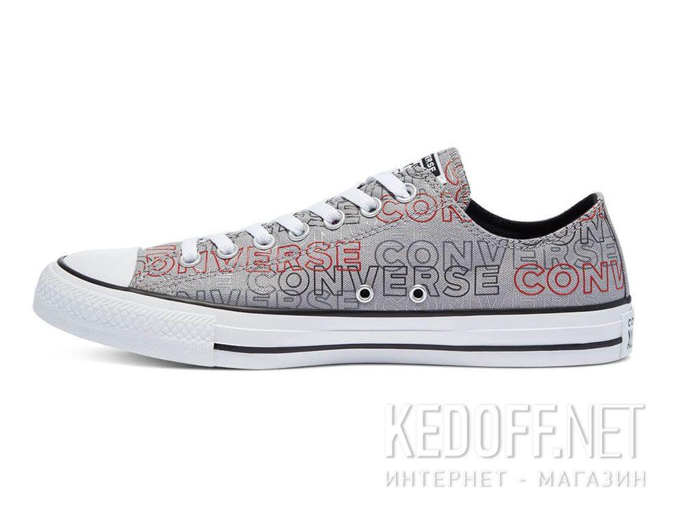 Оригинальные Мужские кеды Converse Chuck Tailor All Star Wordmark Print low 170109C