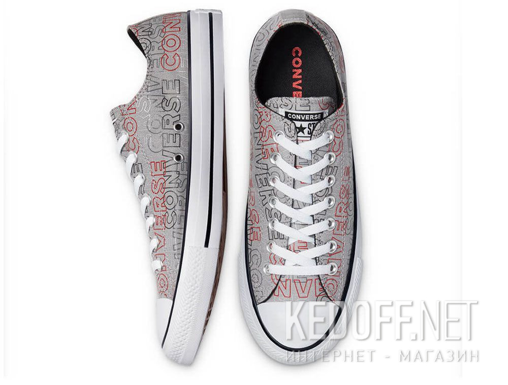 Цены на Мужские кеды Converse Chuck Tailor All Star Wordmark Print low 170109C