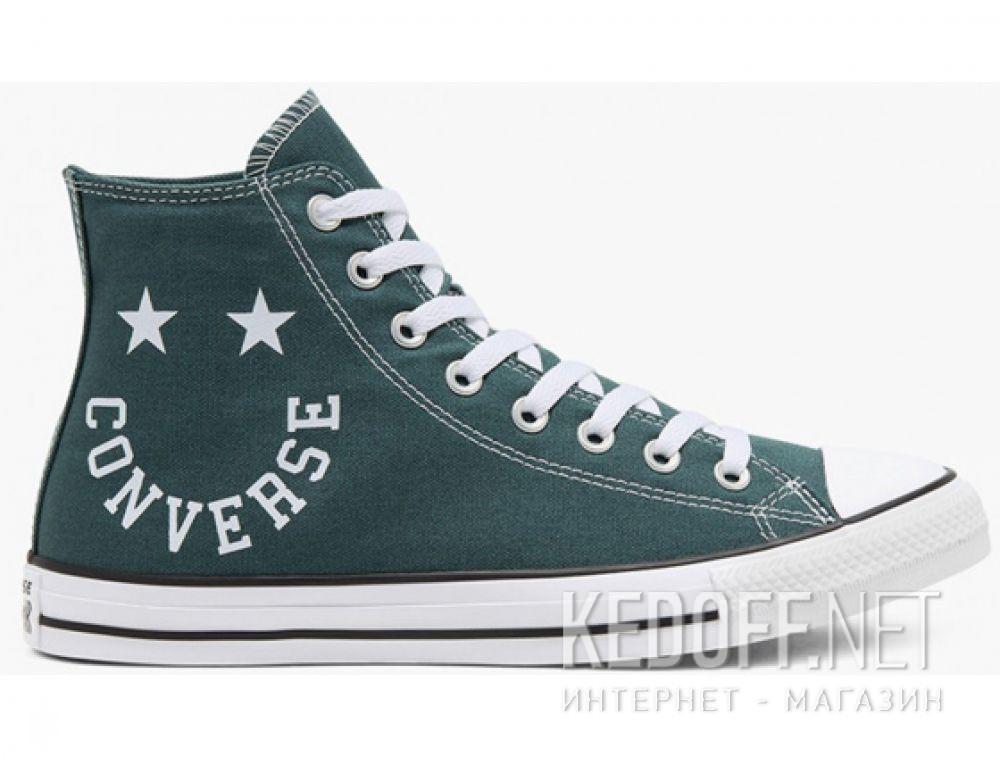 Мужские кеды Converse Chuck Taylor All Star Hi Faded Spruce 167068C купить Украина