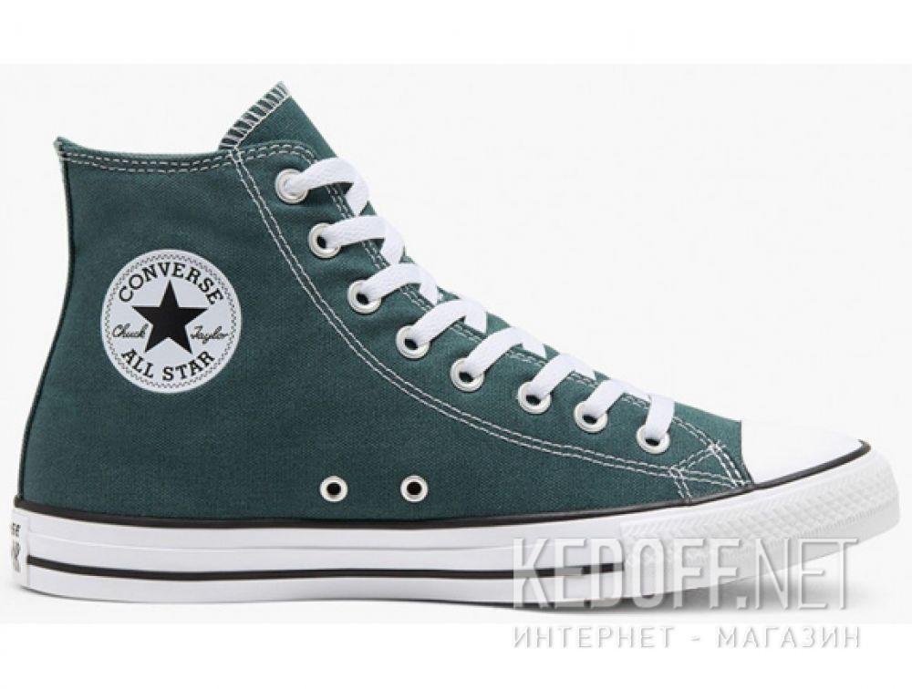 Мужские кеды Converse Chuck Taylor All Star Hi Faded Spruce 167068C купить Киев