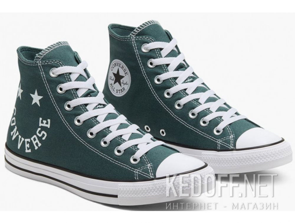 Купить Мужские кеды Converse Chuck Taylor All Star Hi Faded Spruce 167068C