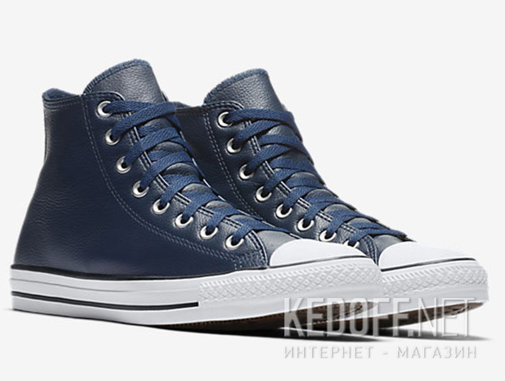 Купить Мужские кеды Converse Chuck Taylor All Star Tumbled Leather HI 161495C