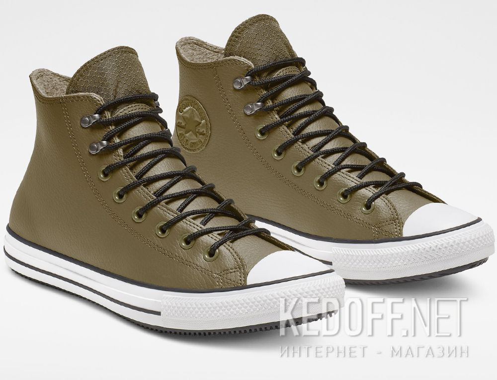 Купить Мужские кеды Converse Chuck Taylor All Star Winter Water-Repellent High Top 164925C Olive