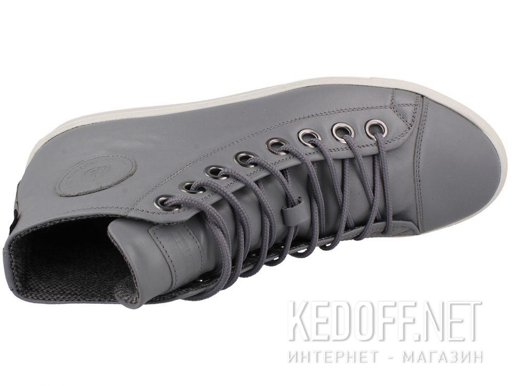 Мужские кожаные кеды Forester 132125-3713 доставка по Украине