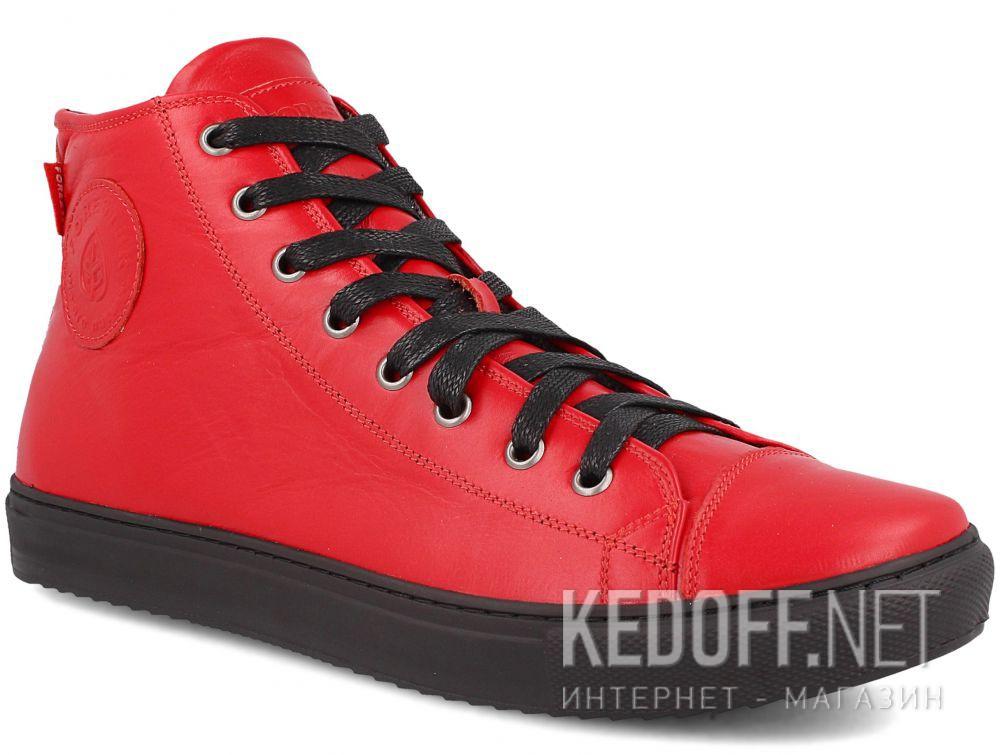 Купить Мужские кожаные кеды Forester 132125-4727
