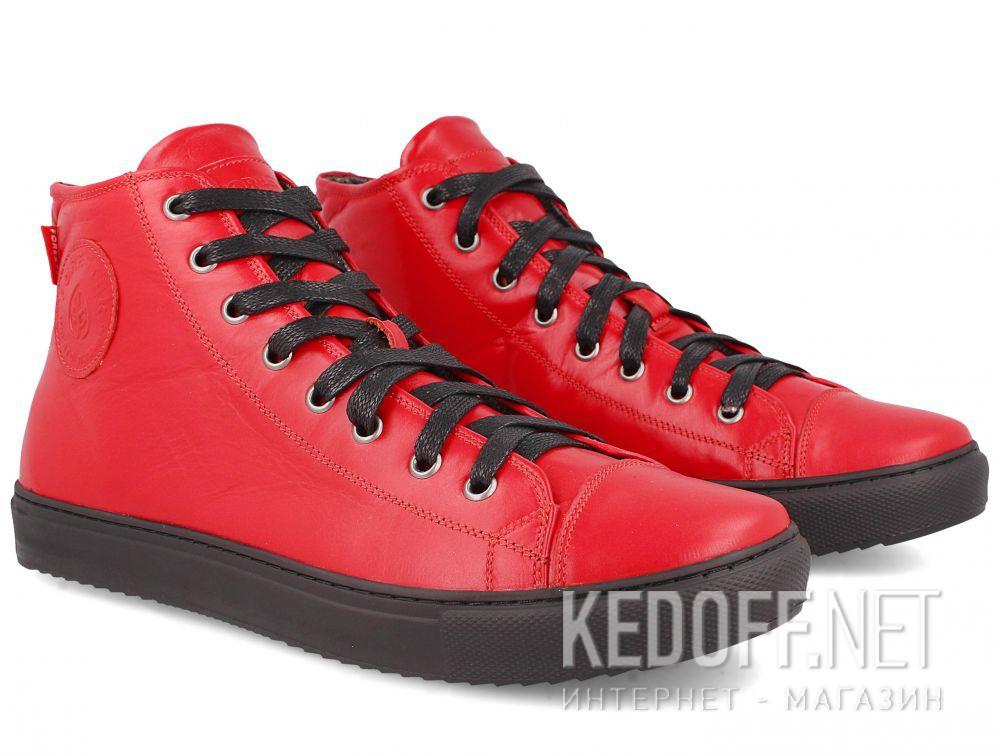 Мужские кожаные кеды Forester 132125-4727 купить Украина