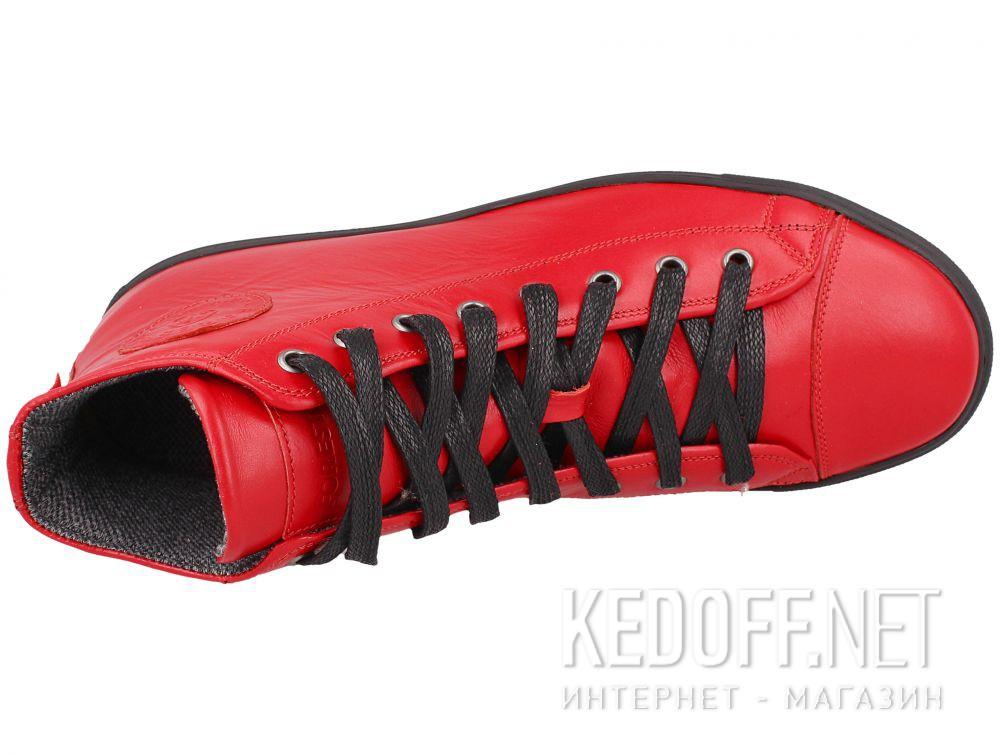 Мужские кожаные кеды Forester 132125-4727 описание