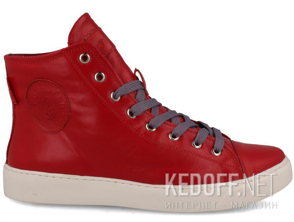 Skórzane trampki Forester High Step Red 132125-479MB купить Киев