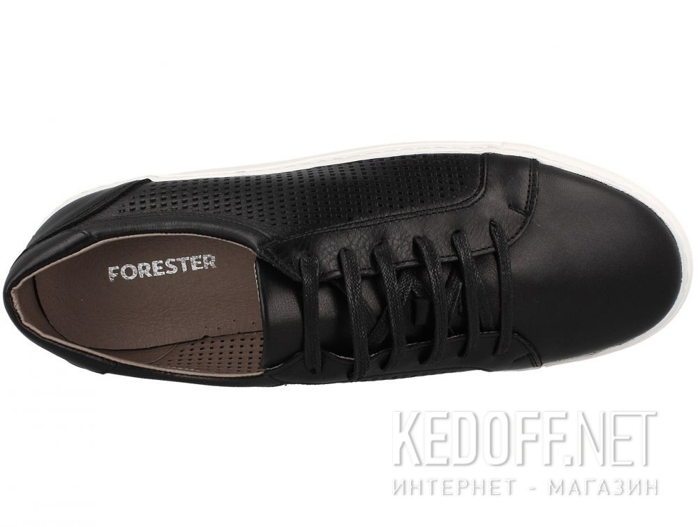 Мужские кожаные кеды Forester 313-6054-27 описание