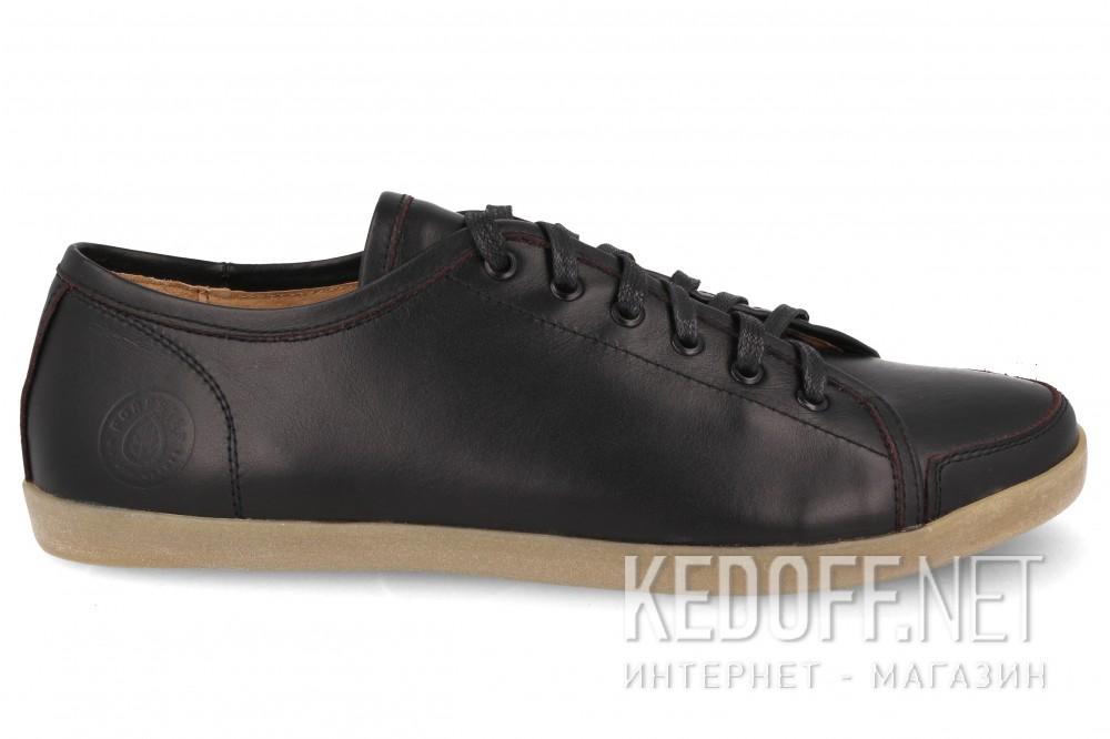 Мужские полукеды Forester 45-614-214   (чёрный) купить Украина