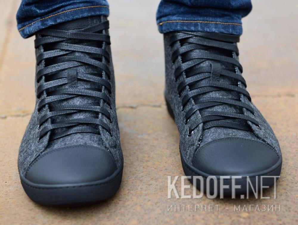 Мужские кеды Forester Dark Grey Wool 132125-39   (тёмно-серый) доставка по Украине