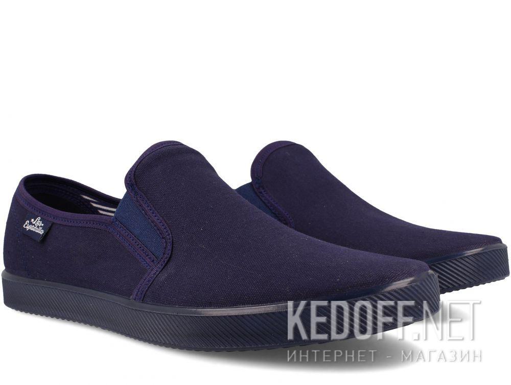 Мужские слипоны Las Espadrillas Eco Soft 6088-8989 Lacoste Navy купить Украина