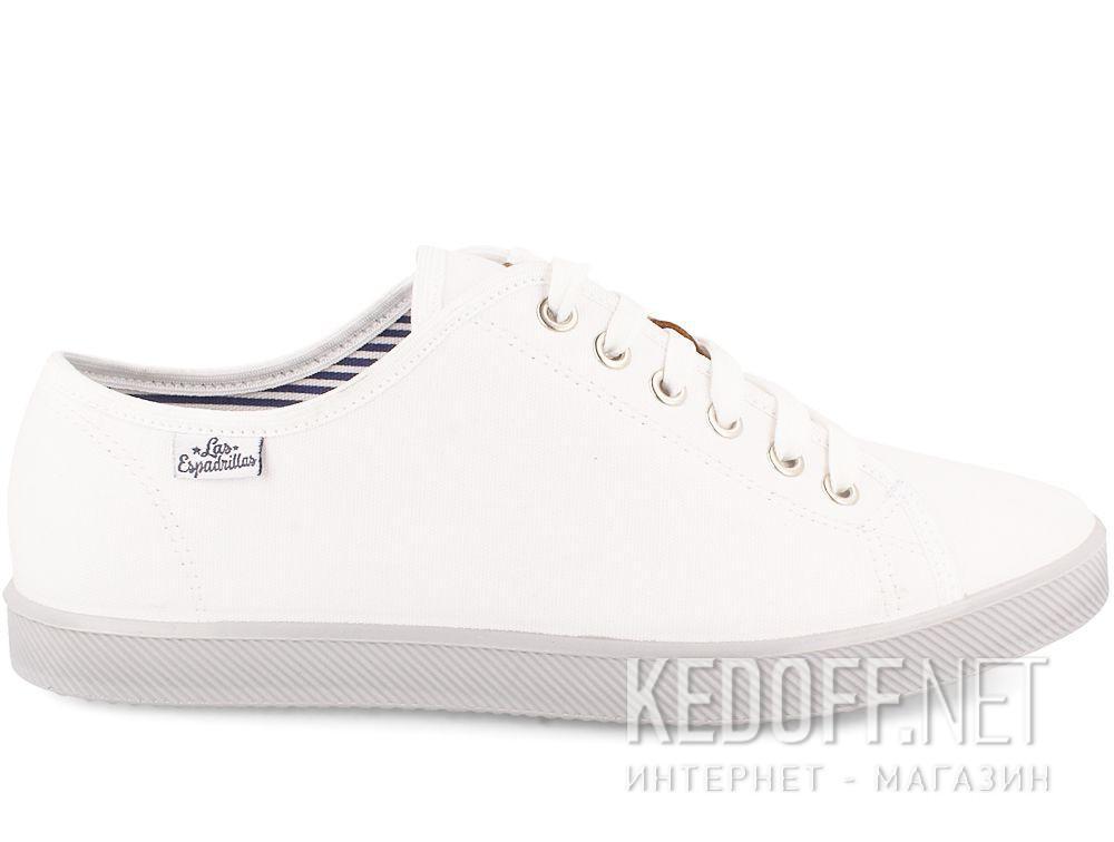 Мужские кеды Las Espadrillas 6099-13 Optical White купить Киев
