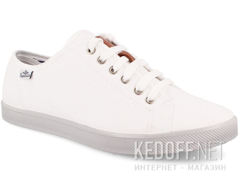 Мужские кеды Las Espadrillas 6099-13 Optical White