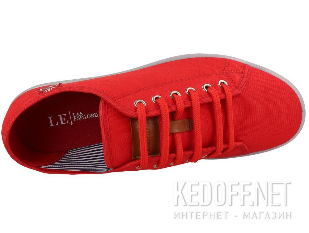 Мужские кеды Las Espadrillas Red Slim 6099-47 описание