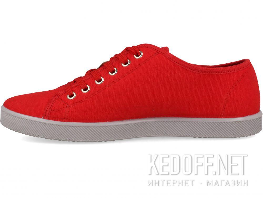 Мужские кеды Las Espadrillas Eco Soft 6099-47  Red Slim  купить Киев