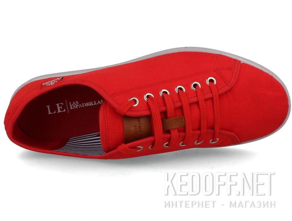Оригинальные Мужские кеды Las Espadrillas Eco Soft 6099-47  Red Slim