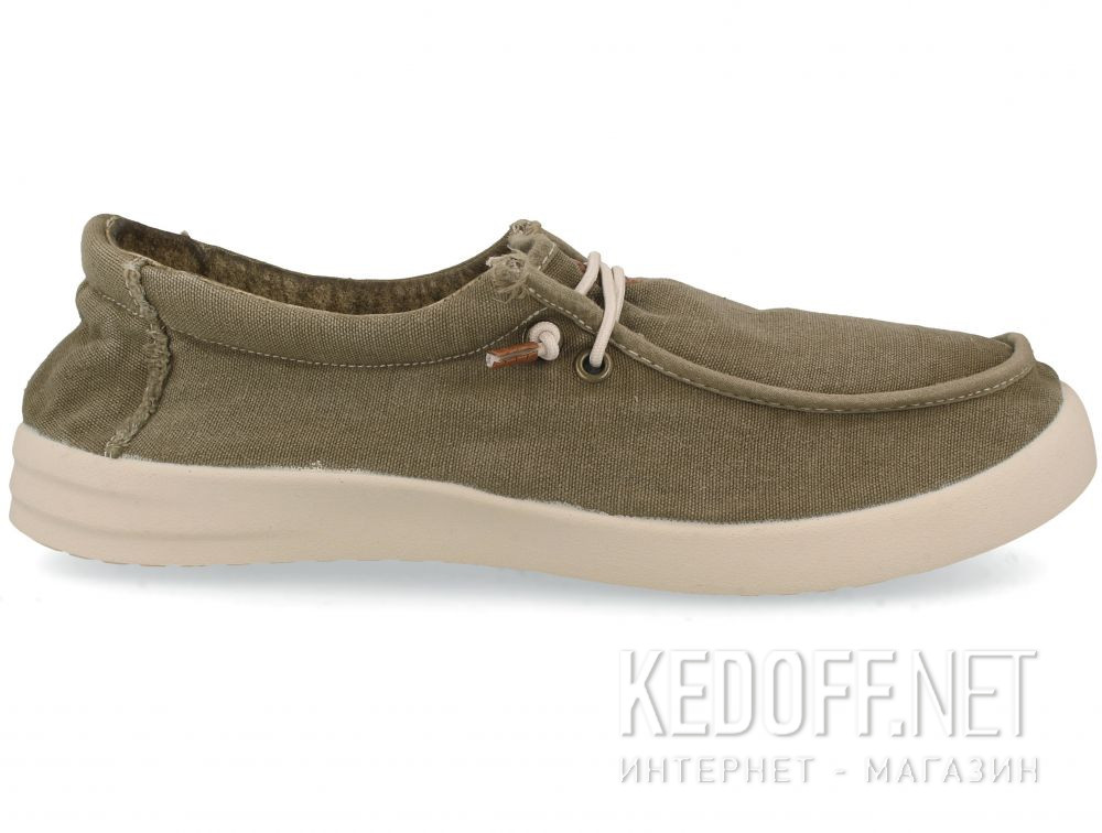 Мужские кеды Las Espadrillas Khaki FV0230-17 Made in Spain купить Киев