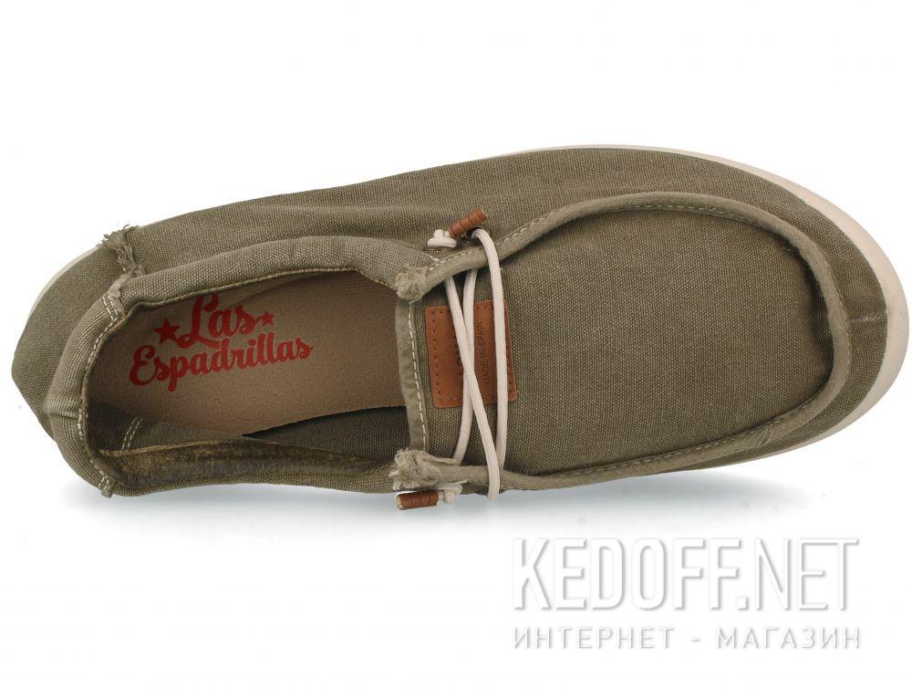 Оригинальные Мужские кеды Las Espadrillas Khaki FV0230-17 Made in Spain