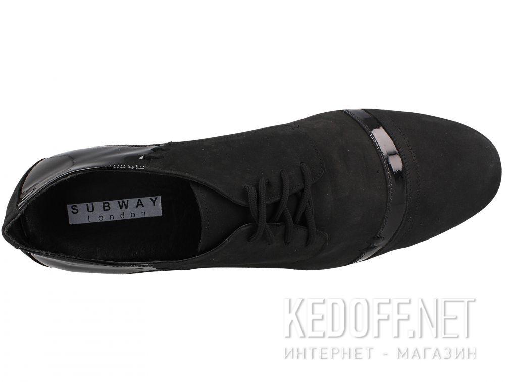 Оригинальные Мужские классические туфли Subway 15320-945   (чёрный)